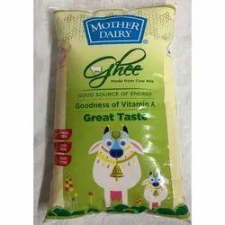 1 Ltr Mother Dairy Cow Ghee Pouch