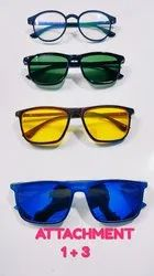 Glaze Iwear TR Frame With Sunglasses Attachment