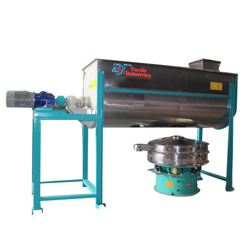 Varahi Industries Ribbon Blender, Capacity: 5kg To 10, 000kg, VRB-500 to VRB-20000