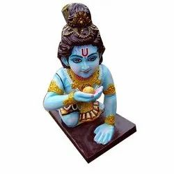 FRP Krishna Statue, For Temple