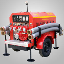 Trailer Mounted Portable Fire Pump