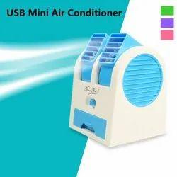 Mini Cooler/ Fan-Dual-Blue
