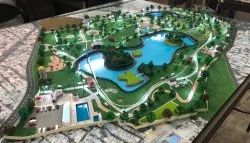 Architectural Model of a Park