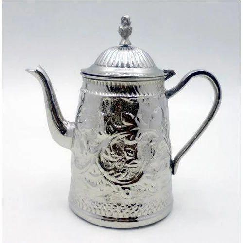 Nickel Brass Fancy Tea Pot Rs 750 Piece Midway Exports Id 16868803091