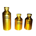 Gold Coated Aluminum Perfume Bottles