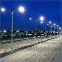 Highway Street Light Pole