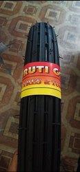 Jumbo Light Vehicle Bike Tyre, Size: 3-75-18