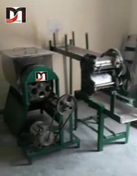 Semi Automatic Noodle Making Machine Mixture Steamer