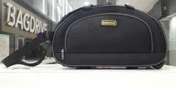 Bagdrive Black Traveling Trolley Bag, Size: 20,24
