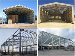 Industrial Sheds Stainless Structure Galvanized -Prefabricated Structure