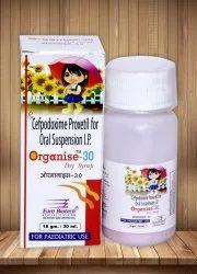 Cefpodoxime 50 mg/5 ml & 100 mg /5 ml
