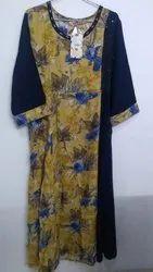 Full Sleeve Casual Wear Shree Branded Kurti