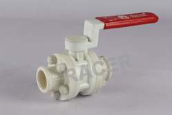 Screwed End Polypropylene Ball Valve