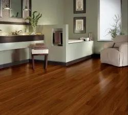 Brown Vinyl Floor Planks, For Office And Home, Thickness: 4-10 Mm