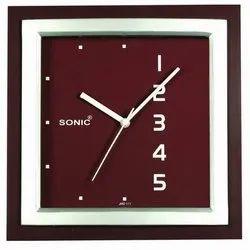 Sonic Plastic Wall Clock