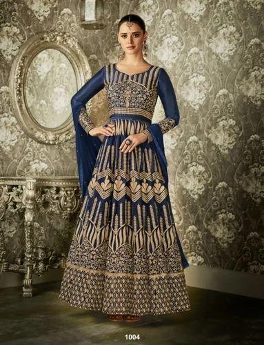 ecc13188c8 Ashirwad Creation Silk Creation Designer Anarkali Suit, Rs 2395 ...