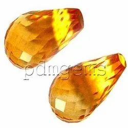 Citrine Fancy Faceted Gemstone