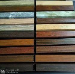 Aluminium Wooden Color