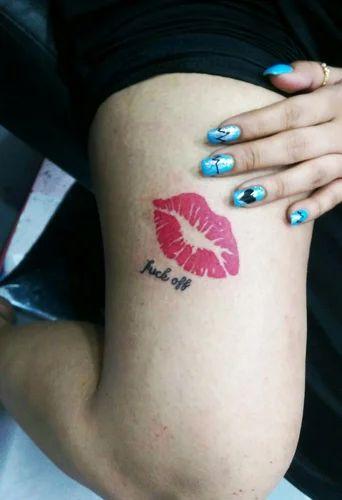 Kiss Tattoo service provider of kalakriti kiss tattoo & kalakriti nail art pink