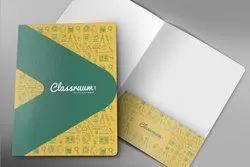 Paper Card Docket Folder, For Office, Paper Size: A4