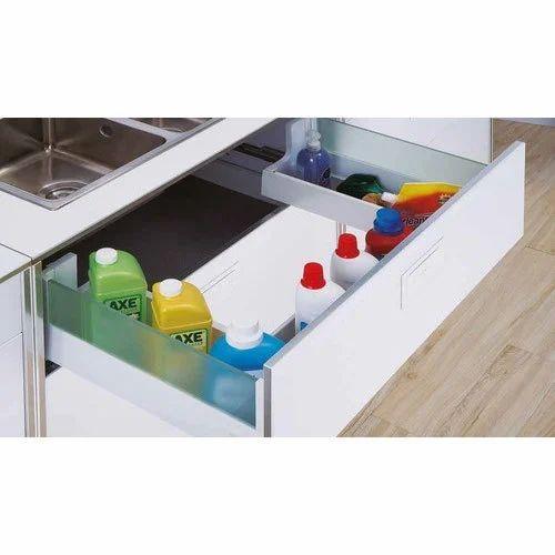 White Simco Tandem Below Sink Drawer Rs 6200 Set Hamza Industries Id 20383366791