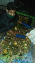 Man Power/Labour  Contract Segregation Processing And Composting For Waste Management