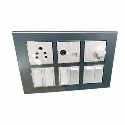 Ceramic Electrical Modular Switchboard, Finishing Type: Matte Finish, IP63