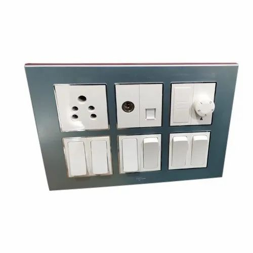 Ceramic Electrical Modular Switchboard, Finishing Type: Matte Finish, IP63