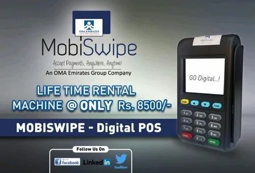 Mobiswipe Card Swipe Machine Without Receipt