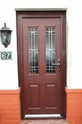 Solid Wood Coloured Wooden Doors
