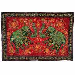 Handcrafted Elephant Wall Hanging -122