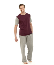 Cotton Plain Mens Pyjama