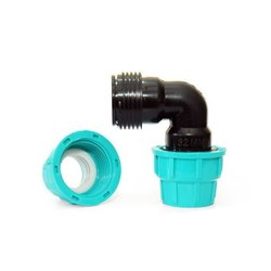 PP Compression Elbow, Size: 20-110mm