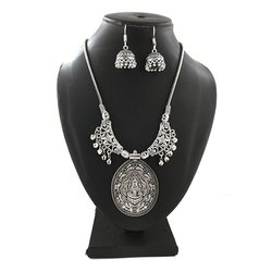 Necklace With Matching Jhumka