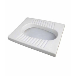 P And S Indian Ceramic Toilet Seat Orissa Pan for Home, Packaging Type: Box