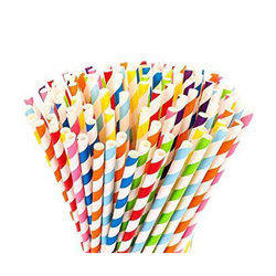 Drinking Paper Wrapped Straw