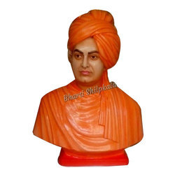 Swami Vivekanand Marble Statue
