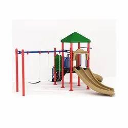 Kids Playing Hibiscus Equipment