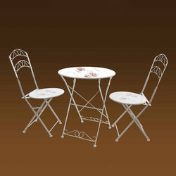 Outdoor Printed Table Chairs Set