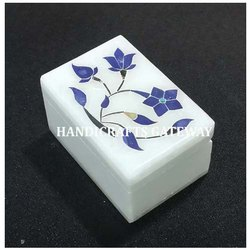 Beautiful Marble Inlaid Box