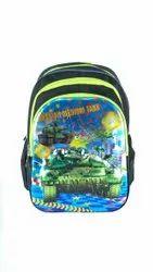 Car Printed School Bags