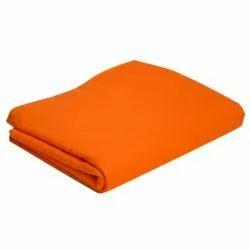 42 Inch Orange Plain Cotton Turban Fabric, GSM: 100-150 GSM