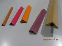 Corner PVC Profile Section
