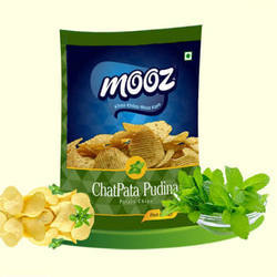 Mooz Chatpata Pudina Chips
