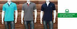 Karma Plain and Printed Mens Polo T Shirt