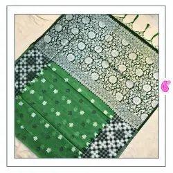 Rajdhani Silk Linen Art Silk Saree