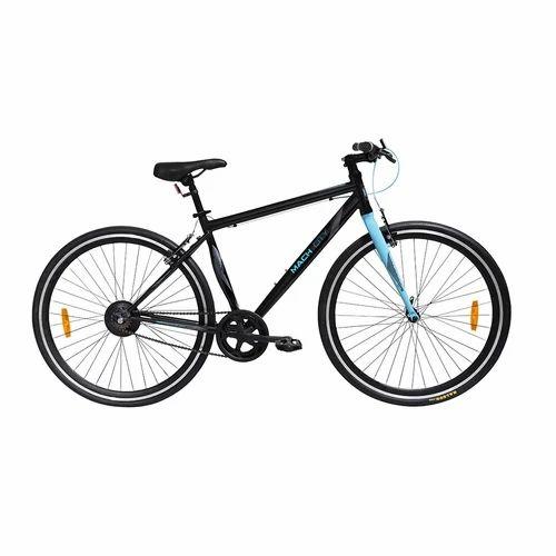 Mach City 26 T Timba Grey/munich Blue Munich Single Speed Bicycle
