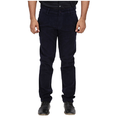 Men Slim Fit Inspire Slim Corduroy Trouser (navy Blue)
