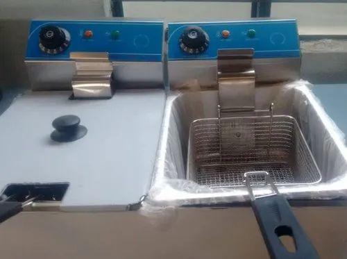 Elect Double Tank Fryer 6 6