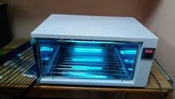 Uvc Equipment Sterilizer With Stainless Steel Grills
